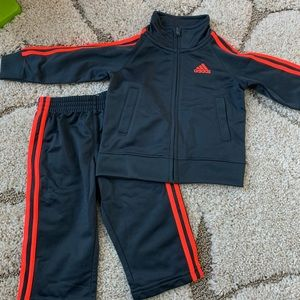SALE TODAY ONLY Adidas toddler 2 piece track suit